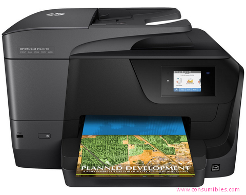 IMPRESORA MULTIFUNCIÓN OFFICEJET PRO 8710 ALL-IN-ONE