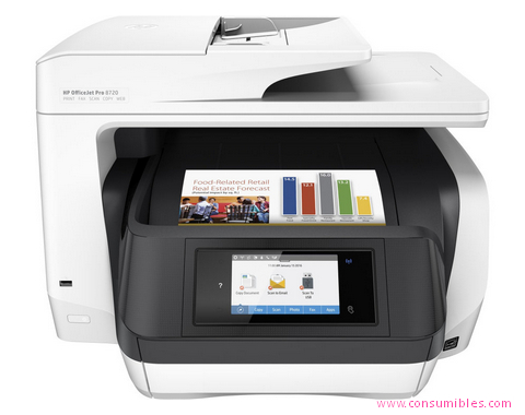 IMPRESORA MULTIFUNCIÓN OFFICEJET PRO 8720 ALL-IN-ONE
