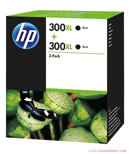 Comprar Pack de 3 cartuchos de tinta alta capacidad D8J43AE de HP online.