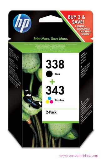 Comprar Pack 2 cartuchos de tinta SD449EE de HP online.