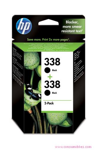 Comprar Pack 2 cartuchos de tinta CB331EE de HP online.
