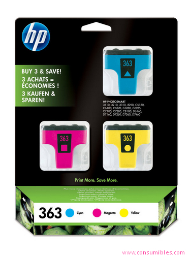 Comprar cartucho de tinta CB333EE de HP online.