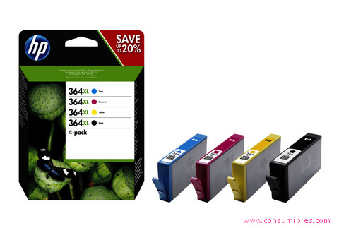 Comprar Value pack cartucho de tinta N9J74AE de HP online.