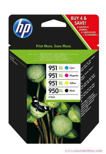 Comprar cartucho de tinta alta capacidad C2P43AE de HP online.