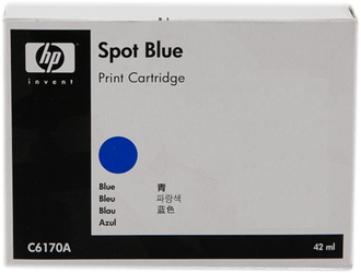 CARTUCHO DE TINTA AZUL SPS 42 ML HP