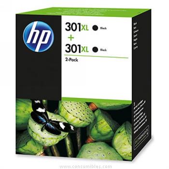 Multipack negro Alta Capacidad Pack 2 HP Nº 301XL