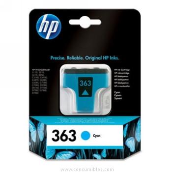 CARTUCHO DE TINTA CIAN HP Nº 363