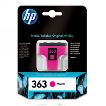 CARTUCHO DE TINTA MAGENTA HP Nº 363