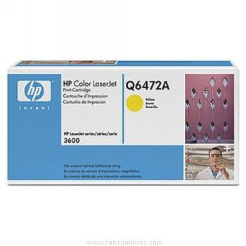 CARTUCHO DE TONER AMARILLO 502A para Color LaserJet 3600n