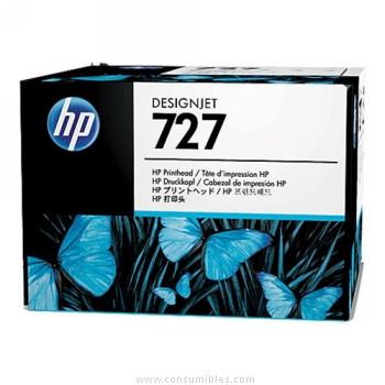 CABEZAL DE IMPRESION COLORES HP Nº 727