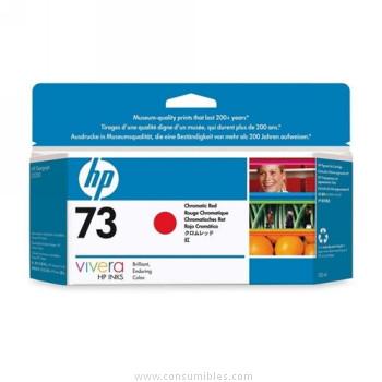 Cartucho de Tinta Rojo 130 ml HP Nº 73