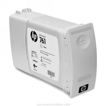 PACK DE 3 CARTUCHOS DE TINTA GRIS 400 ML PACK 3 HP Nº 761