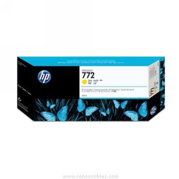 CARTUCHO DE TINTA AMARILLO 300 ML HP Nº 772