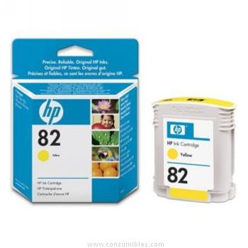 cartucho de tinta 82 amarillo C4913A