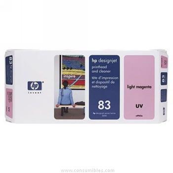 TINTA DE EXTERIOR UV CABEZAL DE IMPRESION Y MAGENTA CLARO HP Nº 83