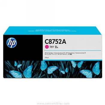 CARTUCHO DE TINTA MAGENTA 775 ML COLOR HP