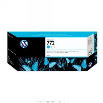 CARTUCHO DE TINTA CIAN 300 ML HP Nº 772