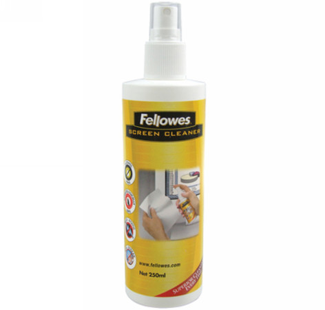 SPRAY LIMPIADOR 250 ML PANTALLAS FELLOWES