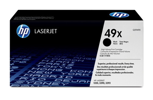 Comprar cartucho de toner alta capacidad Q5949X de HP online.