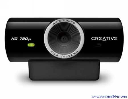WEBCAM MIC LIVE HD 720P CREATIVE