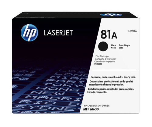 Comprar cartucho de toner CF281A de HP online.
