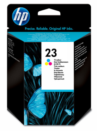 Comprar cartucho de tinta C1823D de HP online.