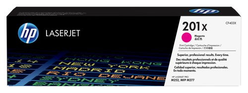 Comprar cartucho de toner alta capacidad CF403X de HP online.