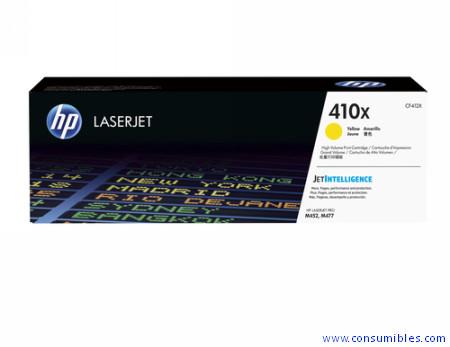 Comprar cartucho de toner alta capacidad CF412X de HP online.