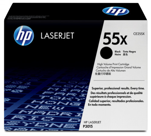 Comprar cartucho de toner alta capacidad CE255X de HP online.