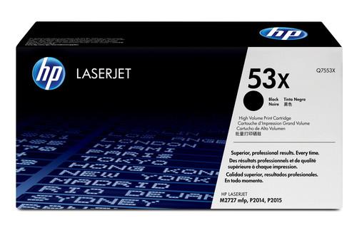 Comprar cartucho de toner alta capacidad Q7553X de HP online.