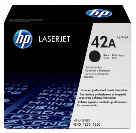 Comprar cartucho de toner alta capacidad Q5942XD de HP online.