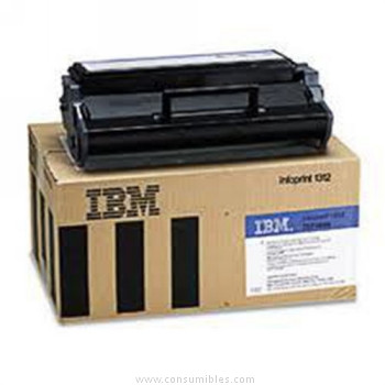 CARTUCHO DE TÓNER ALTA RETORNABLE IBM 75P4305