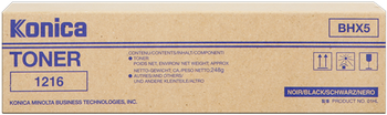 CARTUCHO DE TONER NEGRO BHX5 KONICA-MINOLTA