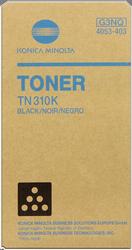 CARTUCHO DE TÓNER NEGRO KONICA-MINOLTA TN310K