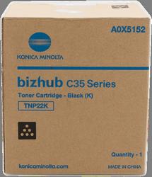 Cartucho de toner negro Konica-Minolta TNP-22K