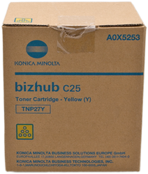 CARTUCHO DE TONER COPIADORA AMARILLO DEVELOP TNP-27Y