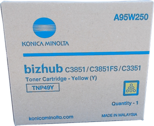 Comprar cartucho de toner A95W250 de Konica-Minolta online.