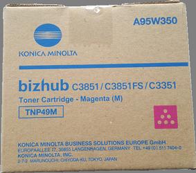 Comprar cartucho de toner A95W350 de Konica-Minolta online.