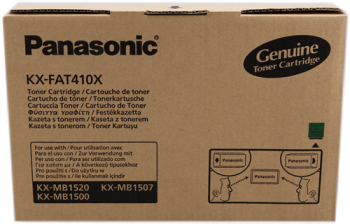 Comprar cartucho de toner KX-FAT410X de Panasonic online.