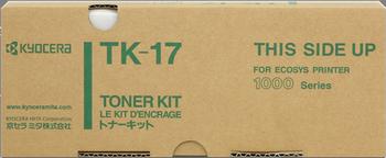 CARTUCHO DE TÓNER NEGRO KYOCERA-MITA TK-17