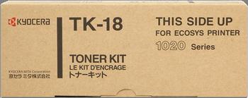 CARTUCHO DE TÓNER NEGRO KYOCERA-MITA TK-18