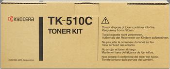 CARTUCHO DE TÓNER CIAN KYOCERA-MITA TK-510C
