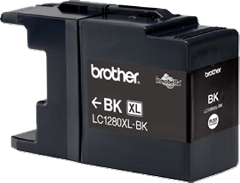 Comprar cartucho de tinta alta capacidad LC1280XLBK de Brother online.