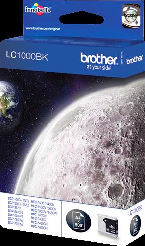 Comprar cartucho de tinta LC1000BK de Brother online.