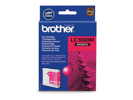 CARTUCHO DE TINTA MAGENTA BROTHER LC-1000M