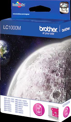 Comprar cartucho de tinta LC1000M de Brother online.