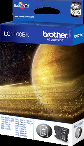 Comprar cartucho de tinta LC1100BK de Brother online.