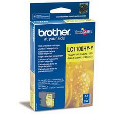 CARTUCHO DE TINTA AMARILLO ALTA BROTHER LC-1100HYY