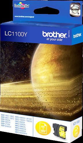 Comprar cartucho de tinta LC1100Y de Brother online.