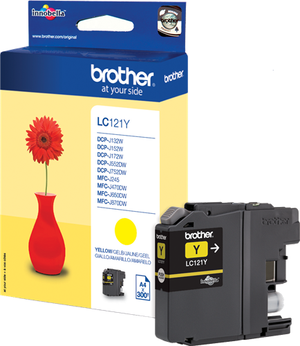 CARTUCHO DE TINTA MAGENTA BROTHER LC-121M